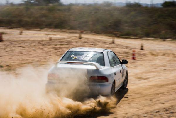 Subaru Impreza STI arriere