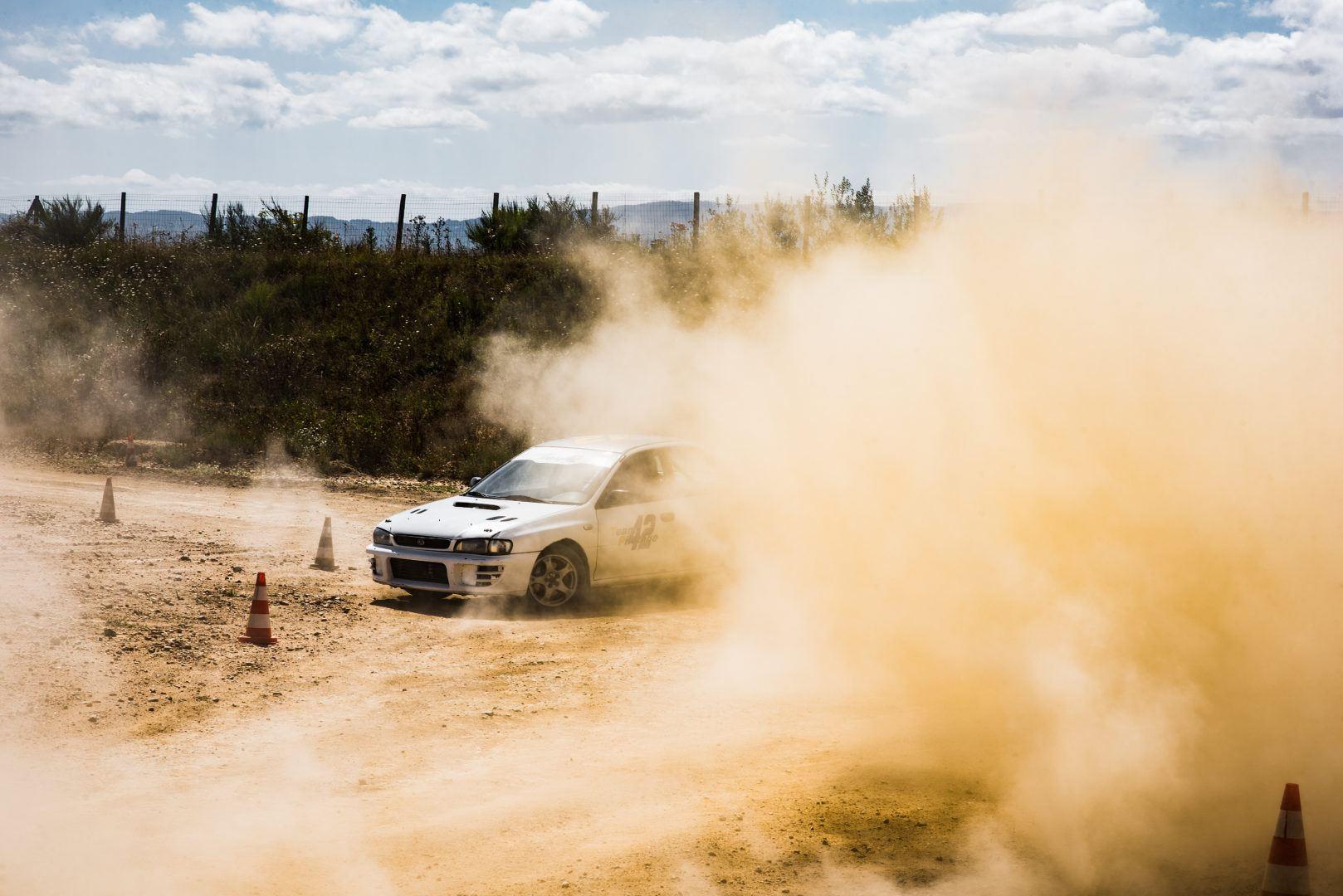 Subaru Impreza STI terre