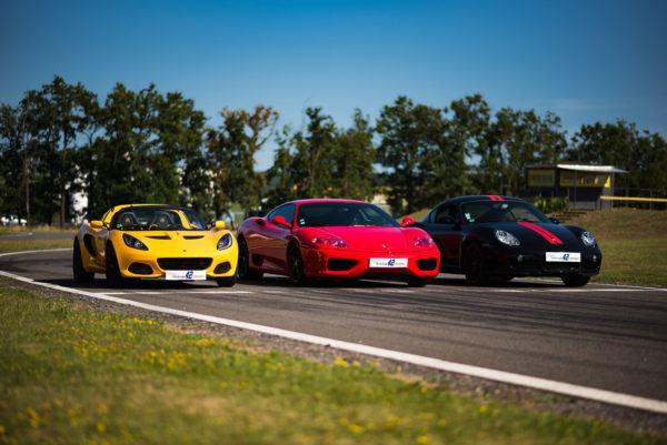 Lotus, Ferrari, Porsche 4