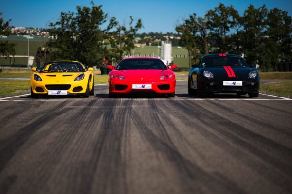 Lotus, Ferrari, Porsche 3