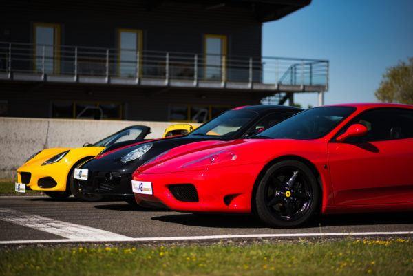 Ferrari, Lotus, Porsche 2