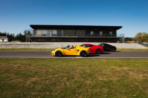 Ferrari, Lotus, Porsche 5