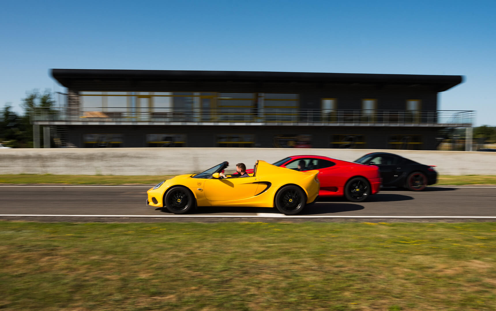 Lotus, Ferrari, Porsche