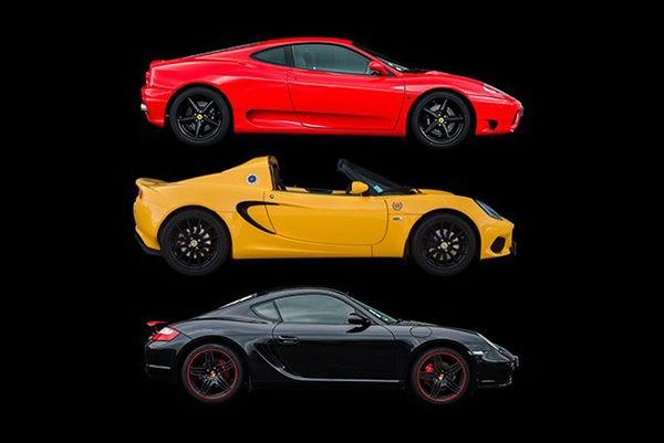 Porsche Ferrari Lotus