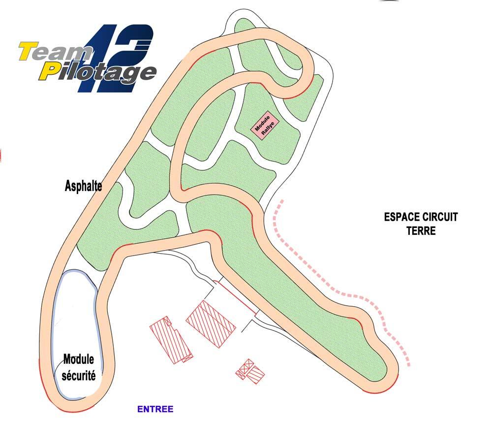 Plan Circuit Paddock 42