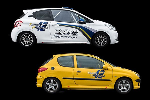 208 Racing cup, 206 S16